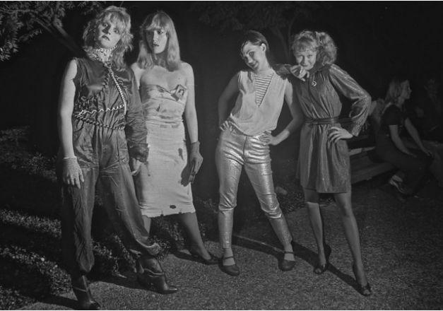 Punk Rock Girls in Houston, TX, 1980