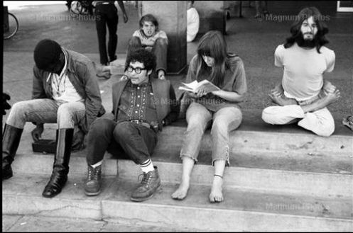teens and 20-somethings in California 1968
