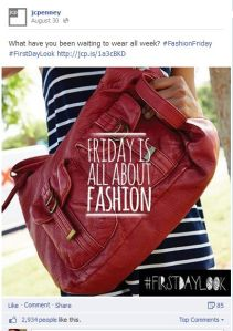 JCP Facebook Post